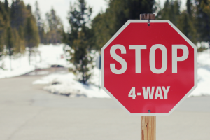 The four-way stop: How to stay on the right path